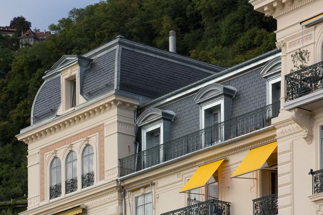 Ferblanterie couverture – Av. de Chillon 78 à Territet