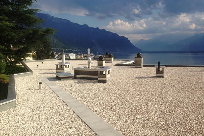 Etanchéité – Av. Rambert 16 A et B à Montreux
