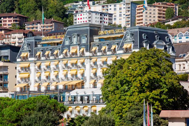 Ferblanterie couverture – Hôtel Suisse Majestic à Montreux
