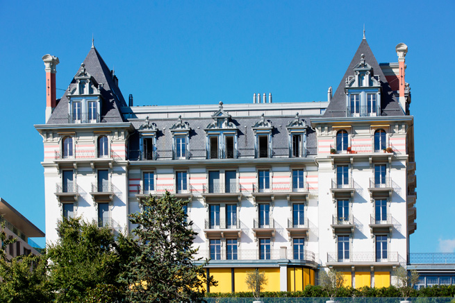 Ferblanterie couverture – Le National à Montreux