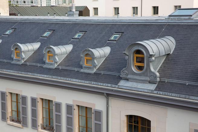 Ferblanterie couverture – Rue Philippe Plantamour 6-8 à Genève