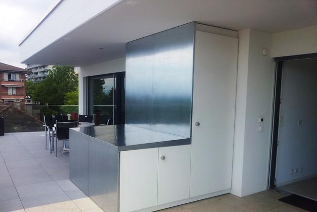Design – Bar en attique à Lausanne